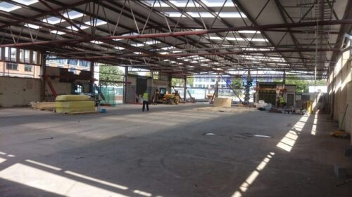 Leicester College Motor Vehicle Engineering Centre