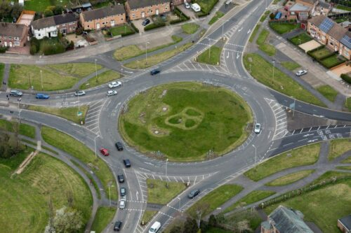 A50/A6 Roundabout
