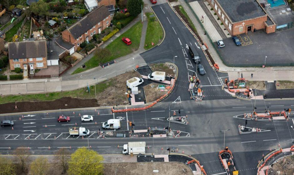A50/A6 Leicester North highway improvements