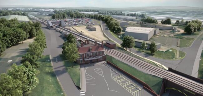 Market Harborough Line Speed Improvement