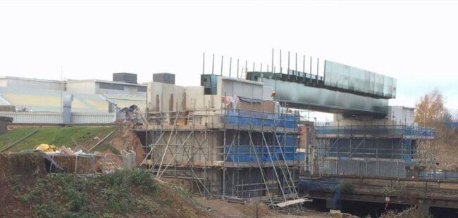 Bridging the gap Great Central Railway build in progress
