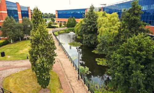 Charnwood Campus buildings and public realm
