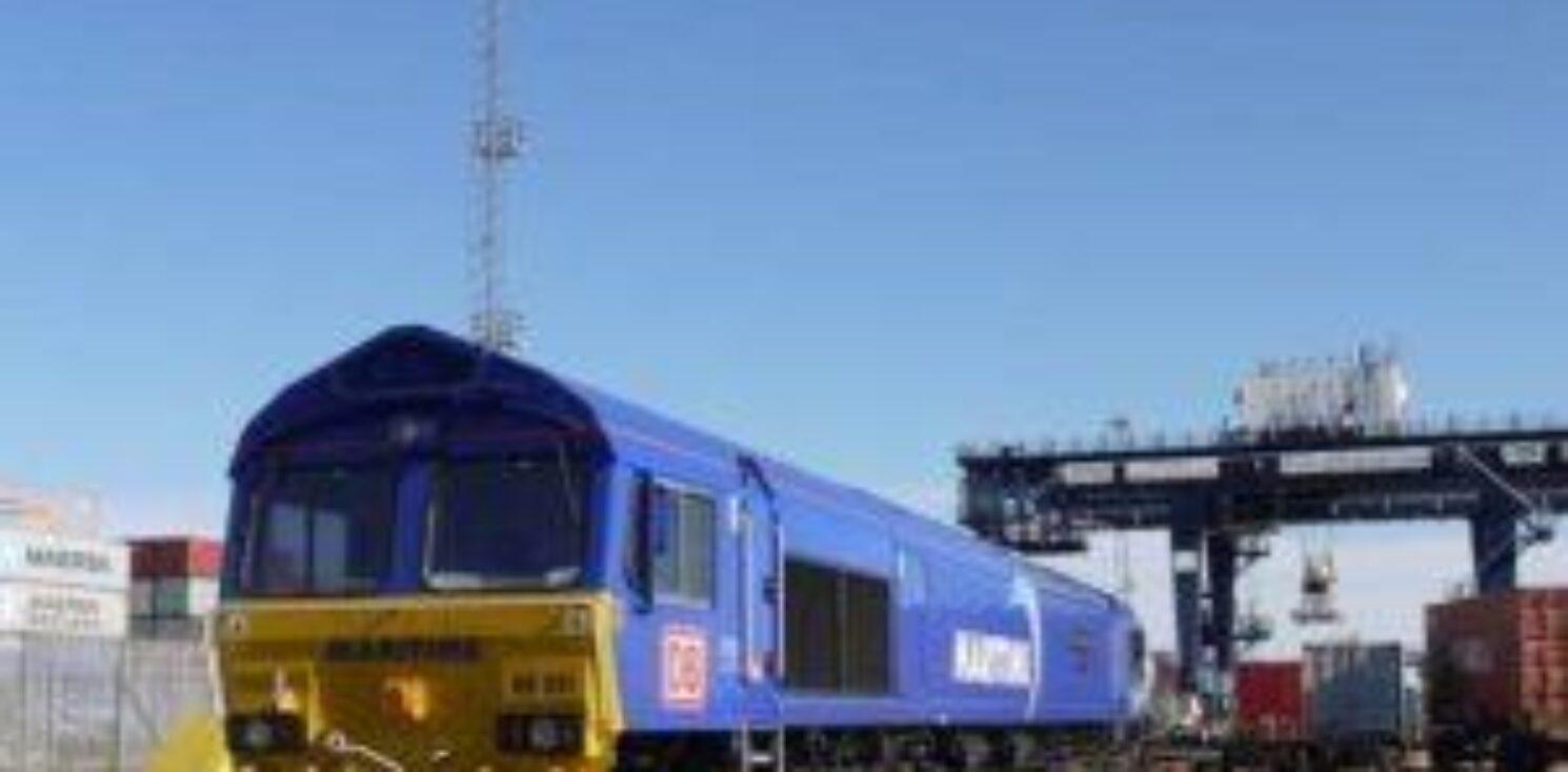 EM Rail Freight Hub locomotive