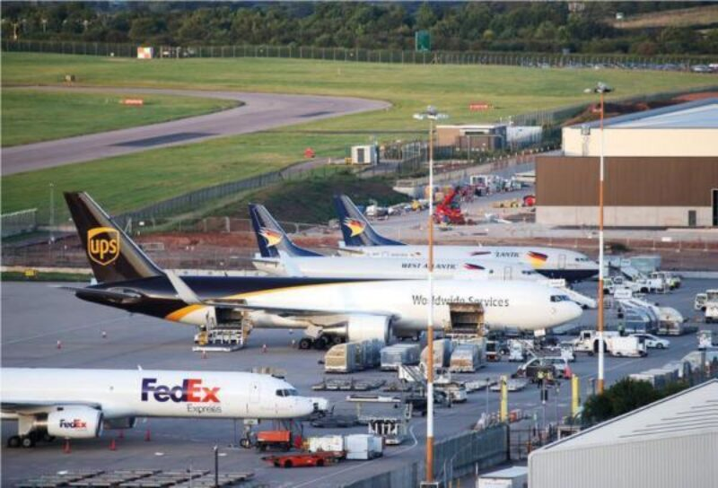 East Midlands Airport Cargo operations