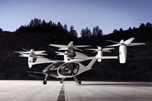 Concept prototype flying taxi