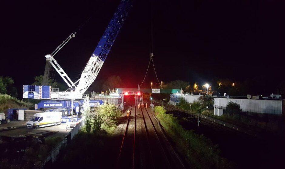 Bridge in position