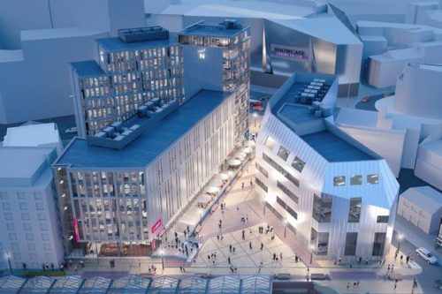 Great Central Square artists impression