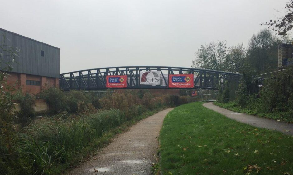 New Charter Street bridge