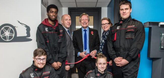 Leicester College Motor Building Opening-