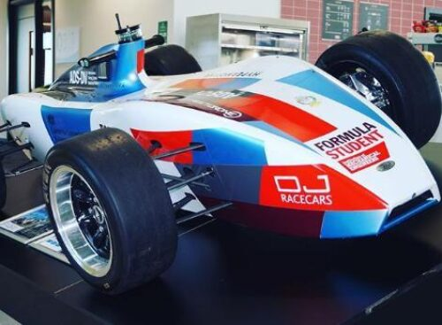 MIRA automated racing car