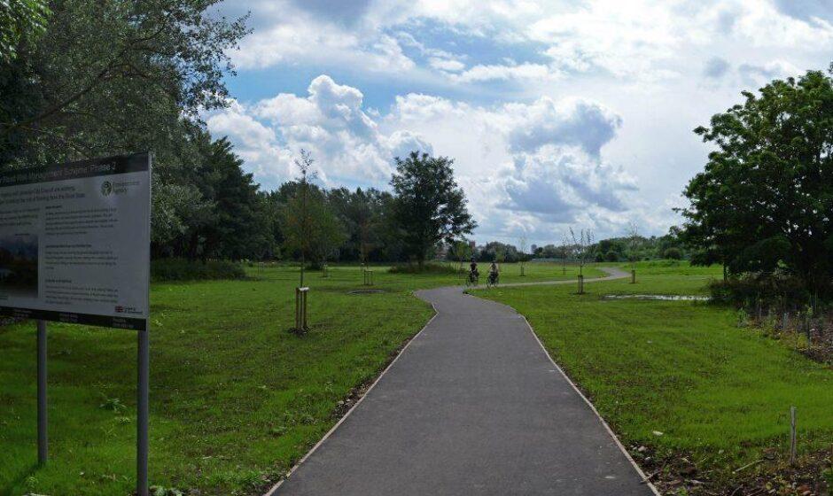 River Soar scheme, Ellis Meadows after