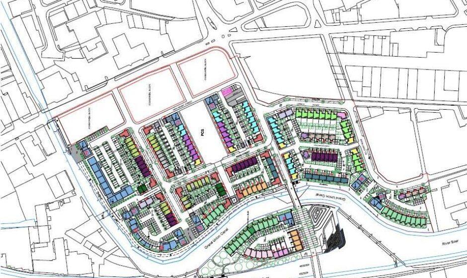 Waterside masterplan