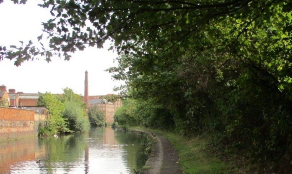 River Soar towpath before