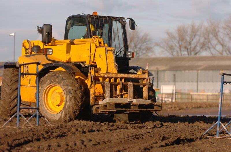Construction Plant on building site