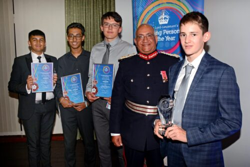 Winners Lord Lieutenant awards