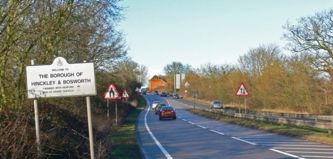 Hinckley and Bosworth sign