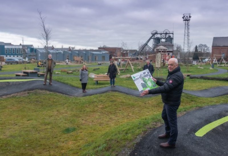 Snibston Colliery Park opening