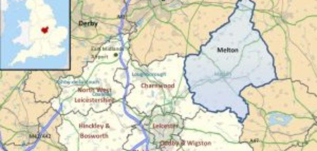 Melton District map