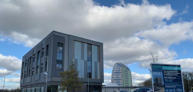 Dock extension + space centre