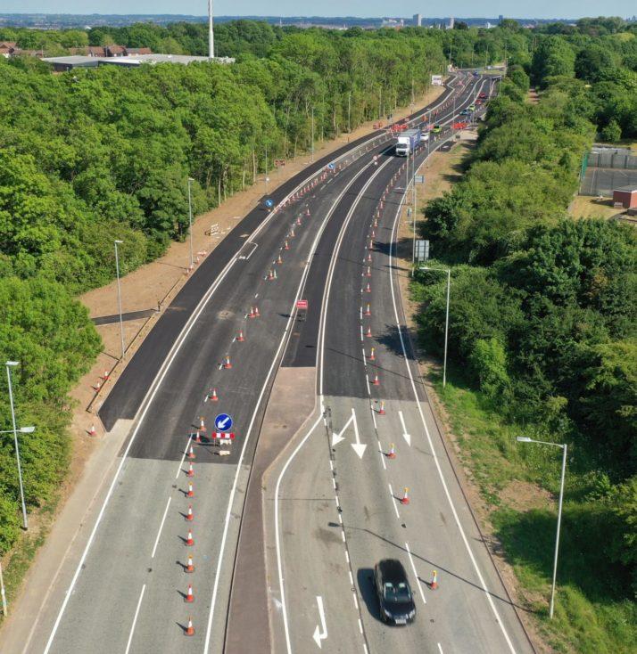 Anstey Lane improvements