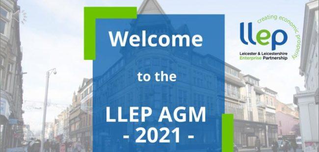 LLEP AGM 2021 presentation cover image
