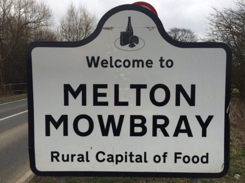 Melton Road Sign
