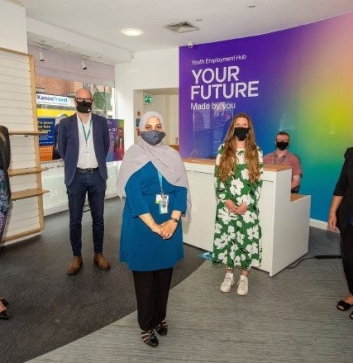 Youth Emploment Hub opening