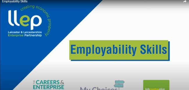 Employability Skills title screen