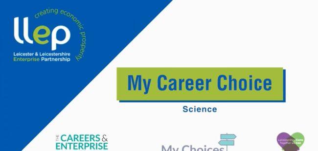 My Career Choice – sciene title screen