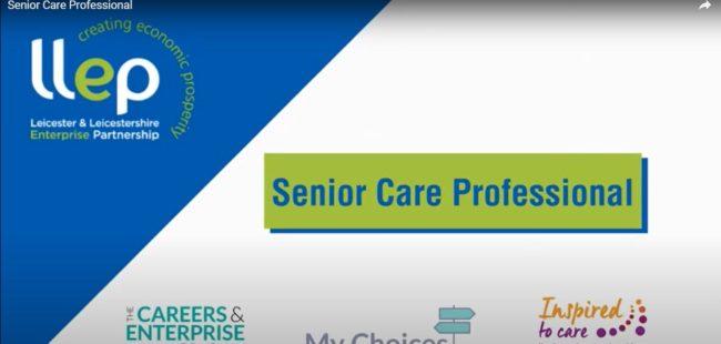 My Career Choice – senior care professional title screen