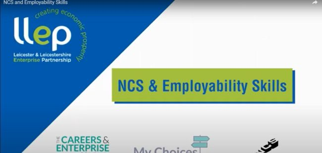 NCS and Employability Skills title screen