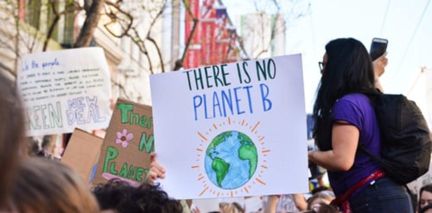 No Planet B sign